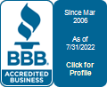 Heritage Bomanite is a BBB Accredited Concrete Contractor in Fresno, CA